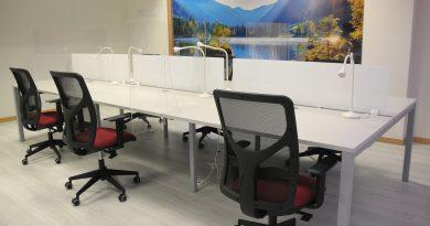 Teleboadilla. Espacios de coworking en el Centro Municipal de Empresas de Boadilla del Monte.