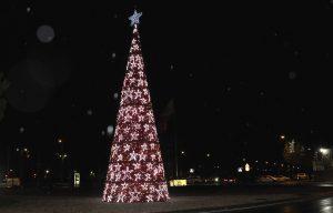 Teleboadilla. Árbol de Navidad en Boadilla del Monte