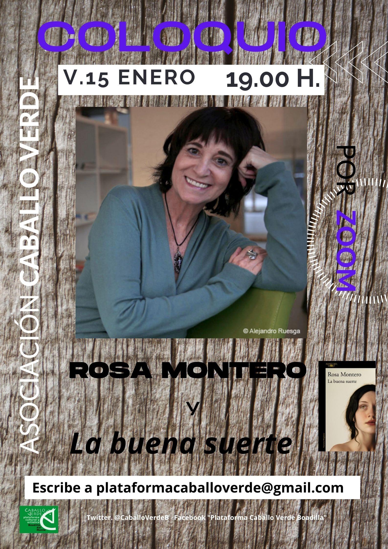 Teleboadilla. Coloquio de Caballo Verde con Rosa Montero