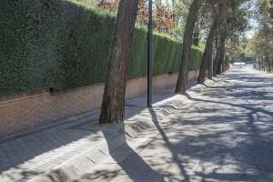 Finaliza la segunda fase de las obras de acerado de la Avenida de Las Lomas