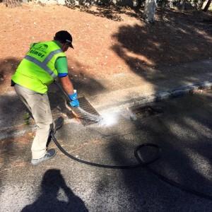Limpieza preventiva del alcantarillado en Montepríncipe