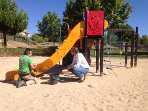 Reparación parques Boadilla