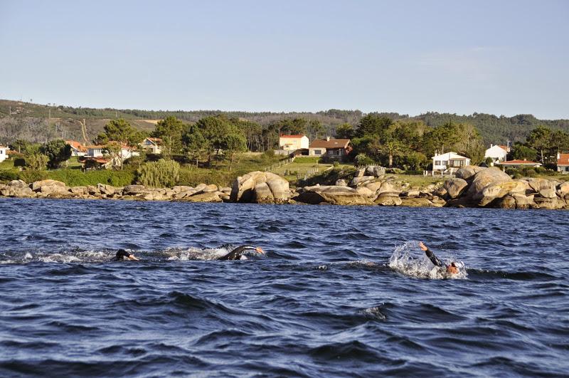 Travesía de natación solidaria en el Cabo de Gata