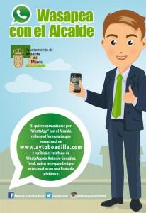 wasapea con tu alcalde alcanza 400 usuarios
