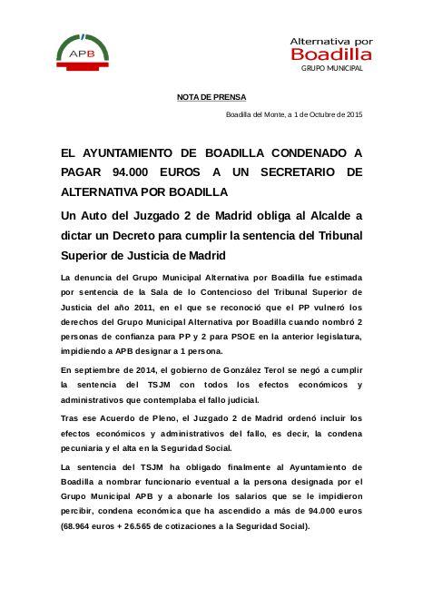 Nota Prensa APB