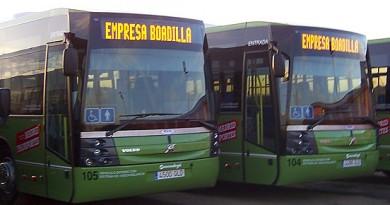 Reordenación del Transporte Público de Boadilla. Autobuses de Transporte Público