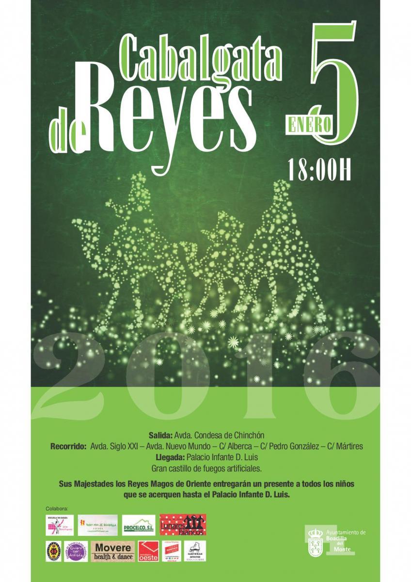 Cabalgata de Reyes de Boadilla del Monte 2016