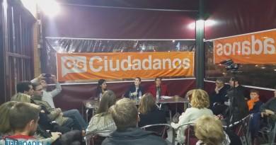Mítin de Ciudadanos en Boadilla Elecciones 2015