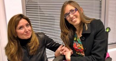 Carolina Juzdado y Mª Angeles Martínez
