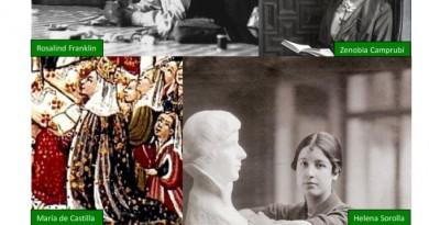 Cartel debate mujeres olvidadas en la Cultura