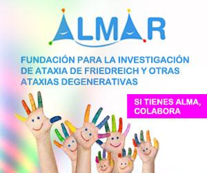 Logo publicitario de la Fundación ALMAR
