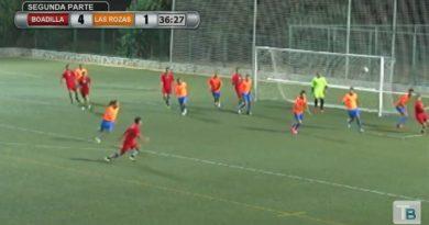 Partido amistoso entre el Internacional Madrid-Boadilla y Las Rozas de fútbol tercera división