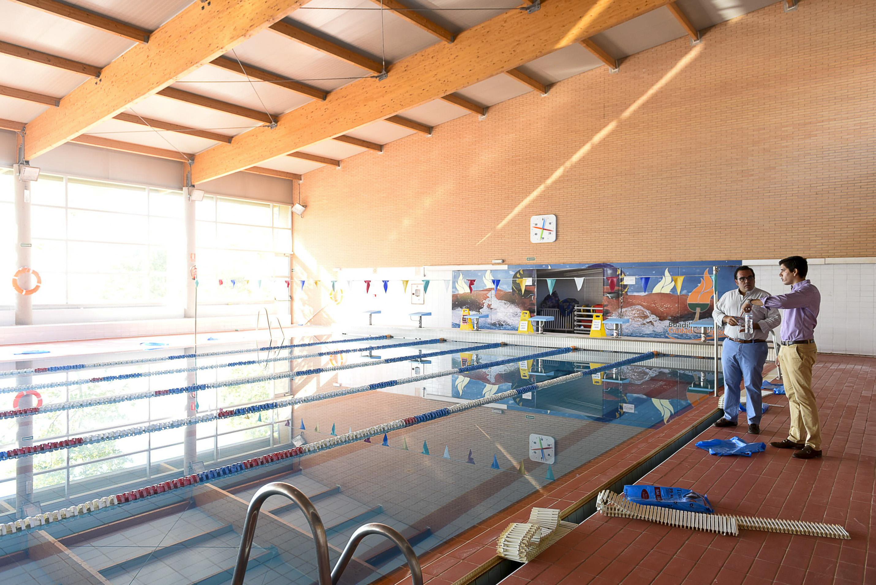 mejoras en la piscina cubierta teleboadilla noticias de