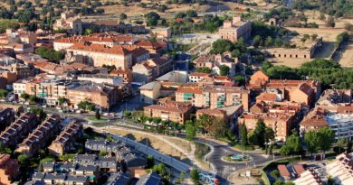 Vista aérea del Casco Urbano de Boadilla