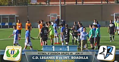 Final Inter Boadilla - Leganés