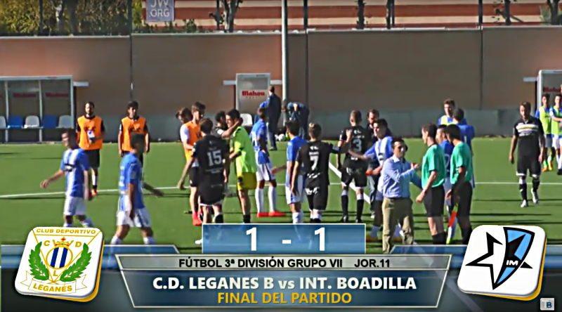 Final Inter Boadilla - Leganés