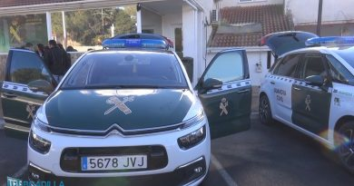 Dos nuevos coches para la guardia civil de boadilla