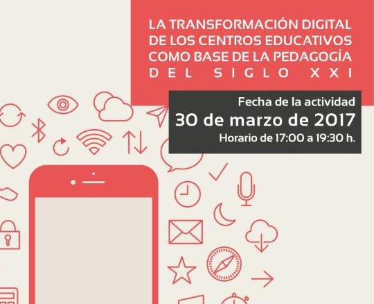 jornada sobre la importancia de la transformación digital en la pedagogía actual