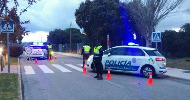 Control de la Policía Municipal de Boadilla