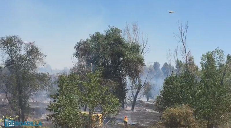 Incendio en la Avenida de El Pastel