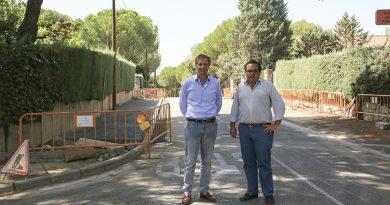 Canalización cableado y renovación del acerado en Pino Centinela