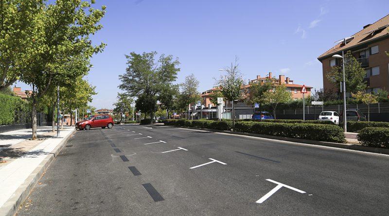 Nuevas plazas en bateria en la Avda. Isabel de Farnesio (2)