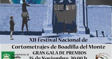 Cartel Gala del XII Festival de Boadilla del Monte