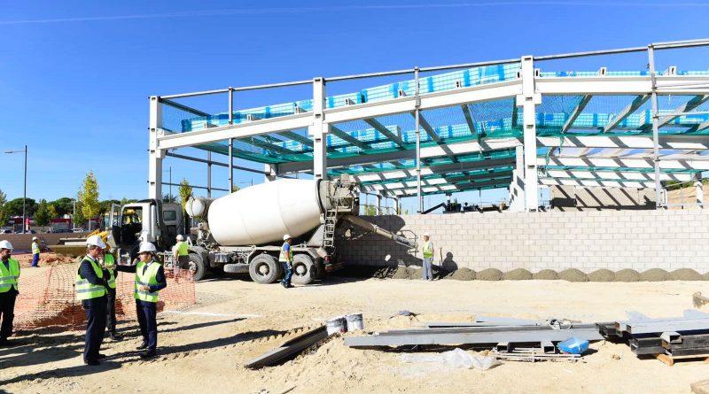 Obras del Carrefour en Boadilla
