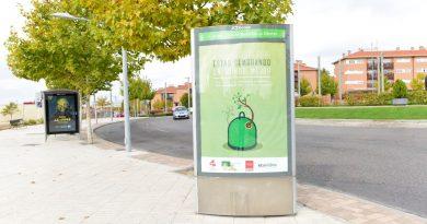 Campaña reciclaje de vidrio en Boadilla del Monte
