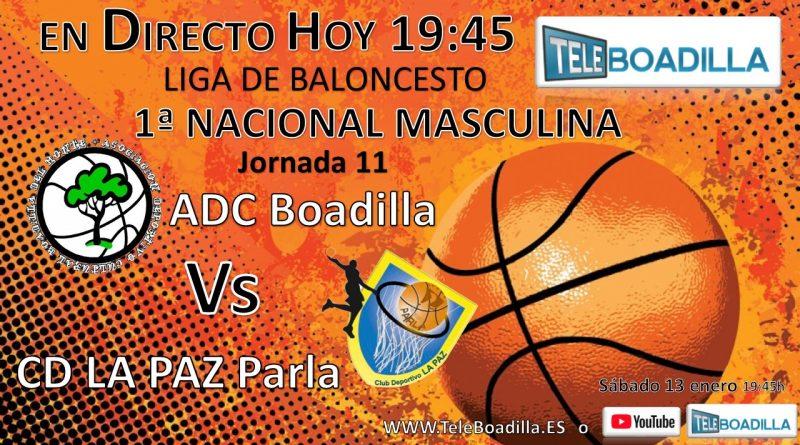 Baloncesto ADC Boadilla vs Parla