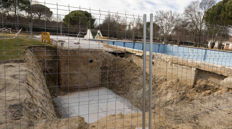 Obras de remodelación del polideportivo Ángel Nieto