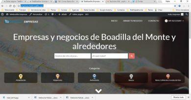 Guía de empresas de Boadilla y alrededores de Teleboadilla