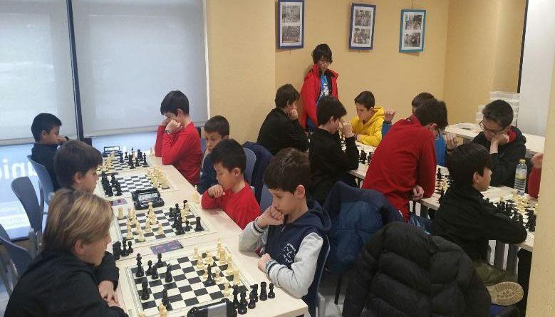 Equipo de ajedrez del Club Jaque Mate de Boadilla del Monte2