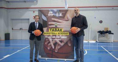 Nueva escuela de baloncesto en el BeOne de Zan Tabak