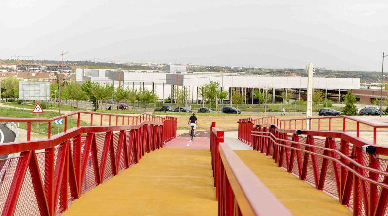Ya está en funcionamiento la tercera pasarela en Boadilla del Monte