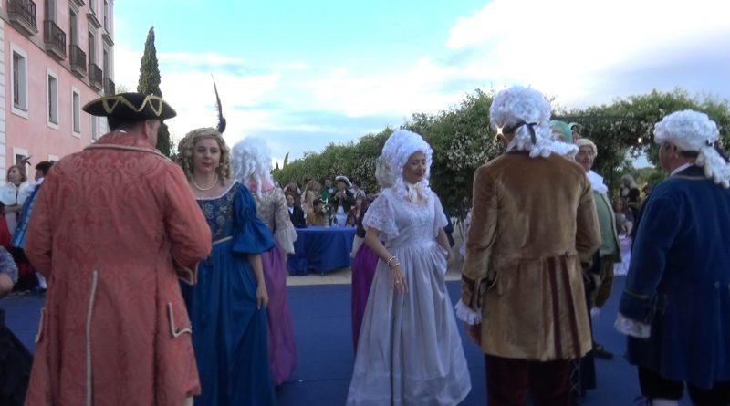 Bailes de época en el Palacio del Infante Don Luis