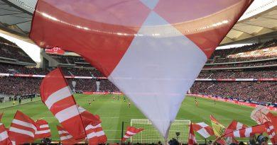 Estadio y afición del Atletico de Madrid