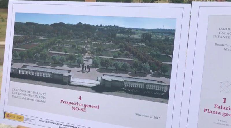Recuperación de las Huertas del Palacio del Infante Don Luis