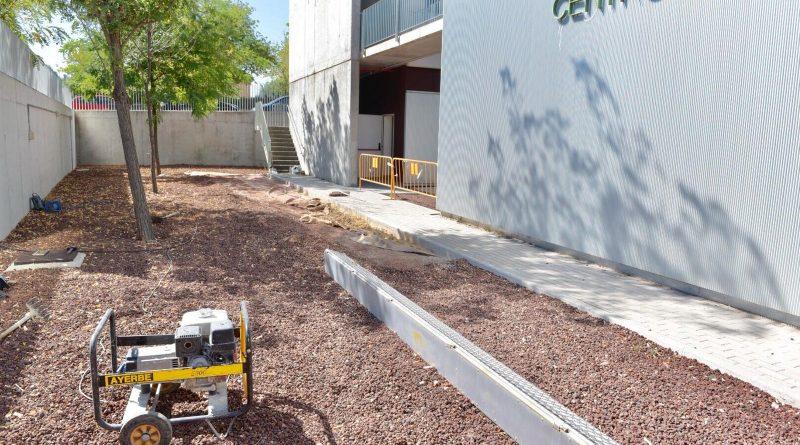 Construcción de una pista de petanca en el Centro de Mayores de Gutiérrez Soto