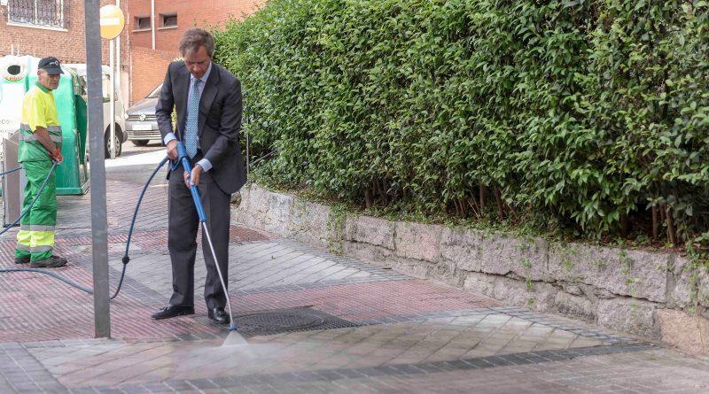 Refuerzo de limpieza en el casco histórico