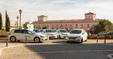 Ir a Madrid Central en un coche eléctrico de alquiler