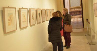 La exposiciónDalí y la Divina Comediatrae al Palacio cien xilografías del pintor que ilustran la obra de Dante
