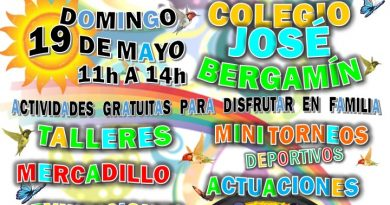 Invitación cartel fiestas ampas 2019