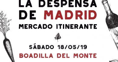 La Despensa de Madrid llega de nuevo al Palacio este fin de semana