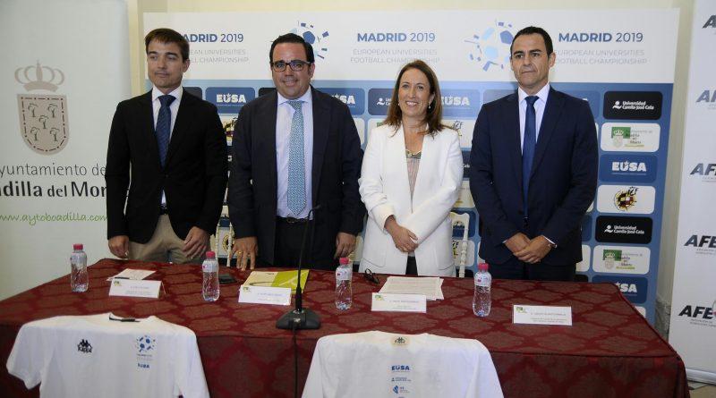 Boadilla acogerá el Campeonato de Europa de Fútbol Universitario el próximo mes de julio