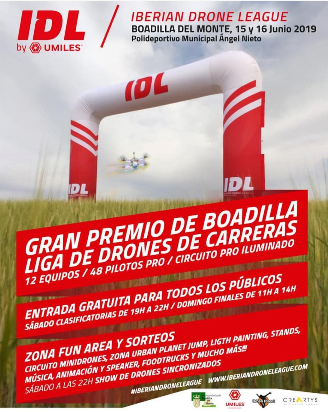Carreras de drones este fin de semana