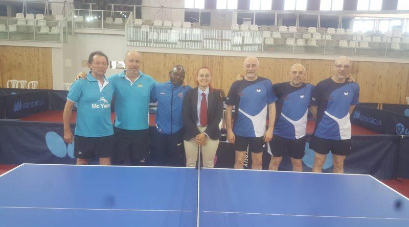 El Boadilla Tenis de Mesa ya es campeón de España Senior