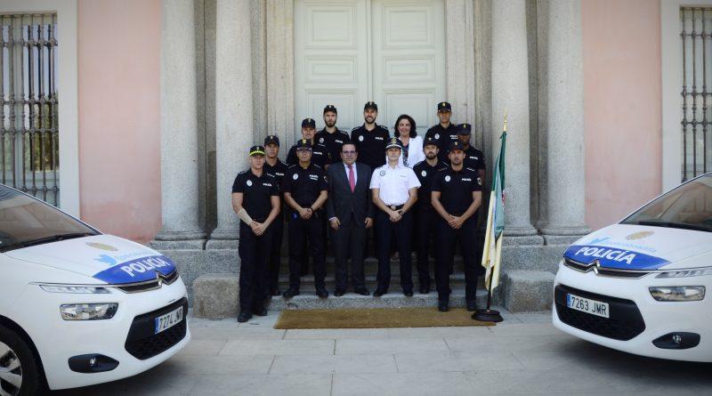 Boadilla incorpora ocho nuevos agentes a la plantilla de Policía Local
