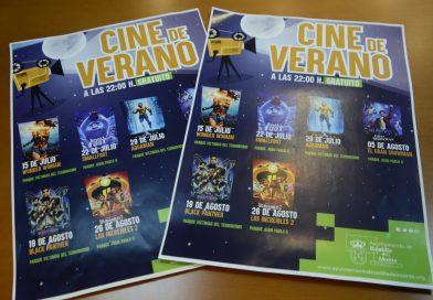 Vuelve el cine de verano a los parques de Boadilla