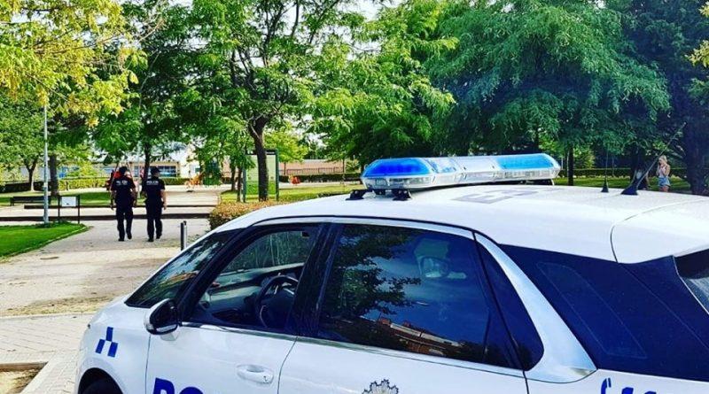 Más vigilancia policia parques